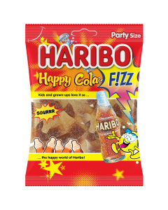 Haribo Fizz Happy Cola 160 gm