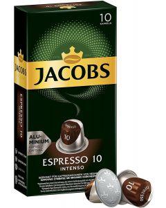 Jacobs Espresso 10Intenso Nespresso Compatible Coffee Capsules