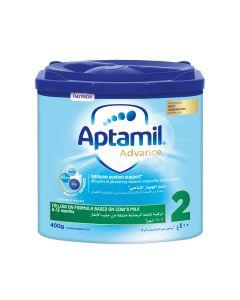 Aptamil Advance 2 Next Generation Follow On Formula  from 6-12 months, 400 GM