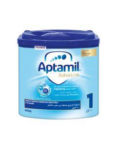Aptamil Advance 1 Next Generation Infant Milk Formula  from 0-6 months, 400 GM