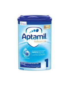 Aptamil Advance 1 Next Generation Infant Milk Formula  from 0-6 months, 900 GM