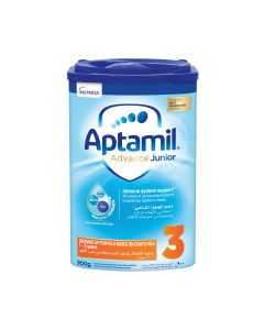 Aptamil Advance Junior 3 Next Generation Growing Up Formula  from 1-3 years, 900 GM