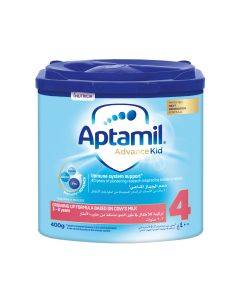 Aptamil Advance Kid 4 Next Generation Growing Up Formula  from 3-6 years, 400 GM