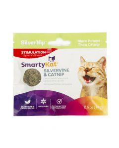 SmartyKat® Silvervine & Catnip 0.5 Oz.