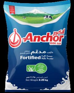 Anchor Full Cream Milk Powder, 2.25 Kg