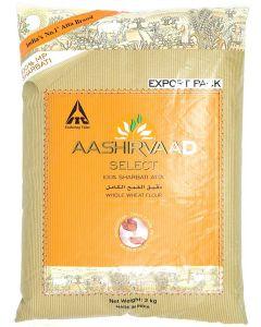 Aashirvaad Whole Wheat Flour 2 kg 100% Sharbati Atta