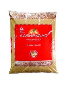 Aashirvaad Whole Wheat Flour 5 kg Select -Superior Sharbati Atta -