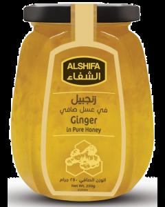 AL SHIFA  HONEY GINGER 250 GM