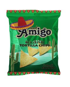 Amigo Tortilla Salted Chips 250 gm