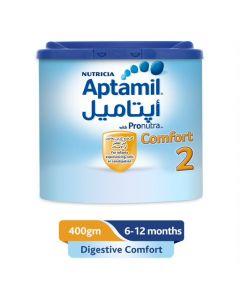 Aptamil Comfort 2 Follow On Formula Milk, 400 gm