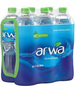ARWA WATER 6 X 1.5 LTR