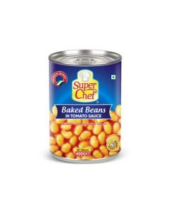 SUPER CHEF BAKED BEANS 400 GM