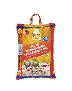 SUPER CHEF LONG GRAIN BASMATI RICE 1121-  10 KG