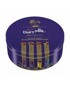 Cadbury Milk Chocolate Assortment Tin (plain, bubbly, flake, oreo) 500 gm