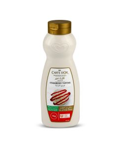 CARTE D'OR STARWBERRY SYRUP 1 LTR