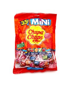 CHUPA CHUPS 35 MINI LOLLIPOPS