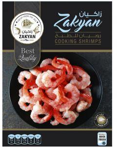 ZAKYAN COOKING FROZEN SHRIMPS 400 GM