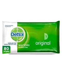 Dettol Original Anti-Bacterial Multi Use Wipes - Pack Of 80