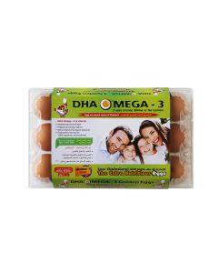 AL JAZIRA DHA OMEGA-3 Family BROWN- 15 EGGS