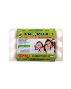 AL JAZIRA DHA OMEGA-3 Family WHITE- 15 EGGS