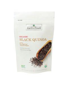 Earth`s Finest Organic Black Quinoa 340 gms