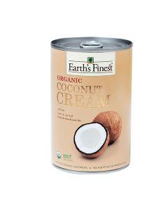 Earth`s Finest Organic Coconut Cream 400 ml