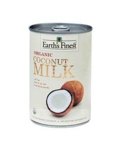 Earth`s Finest Organic Coconut Milk 400 ml