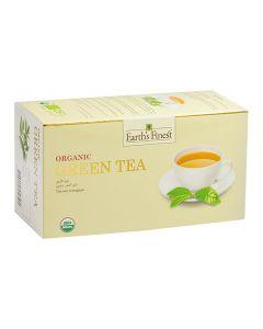 Earth's Finest Organic Green Tea (25 bags) 37.5gMS
