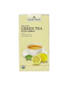 Earth's Finest Organic Green Tea with Lemon (25 bags) 37.5gMS