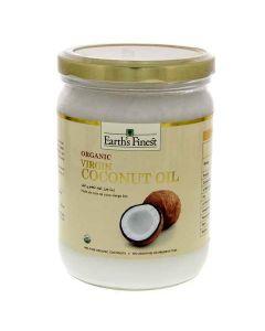 Earth`s Finest Organic Virgin Coconut Oil 500 ml