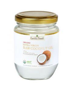 Earth`s Finest Organic Extra Virgin Raw Coconut Oil 200 ml
