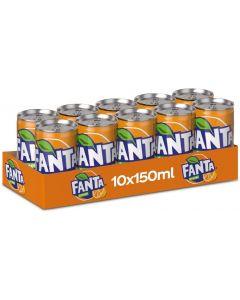 Fanta Orange 10 X 150 ml