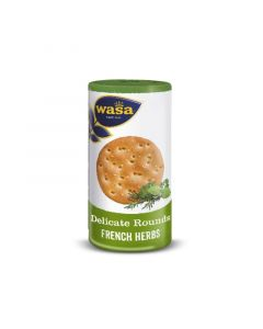 WASA DELICATE TASTY ROUNDS FRENCH HERBS 205GM