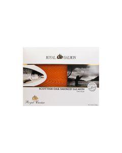Royal Caviar Oak Wood Smoked Scottish Salmon - Fresh 200 GM