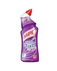 Harpic Toilet Cleaner Liquid Active Fresh Lavender, 750 ml