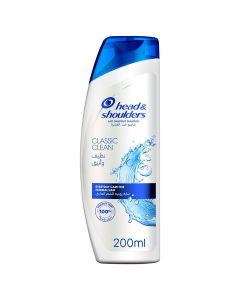 Head & Shoulders Classic Clean Anti-Dandruff Shampoo 200 ml