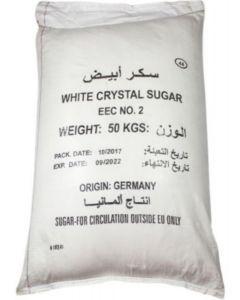 GERMAN WHITE SUGAR 1 X 50 KG