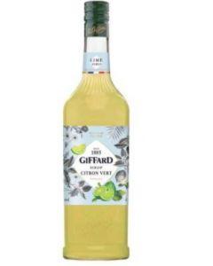 GIFFARD LIME  SYRUP