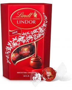 Lindt Lindor Milk Chocolate Balls - 200 gm