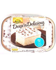 McCain Deep 'n' Delicious Vanilla Cake 510gm
