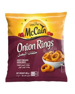 McCain Onion Rings 400 gm