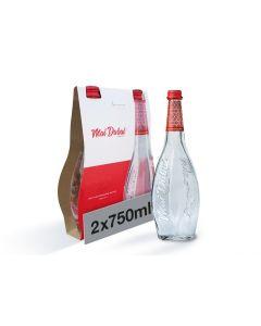 Mai Dubai Water Glass Bottle 2X750 ML