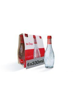 Mai Dubai Water Glass Bottle  6X330ML