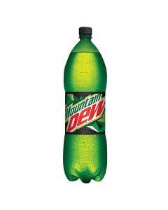 Mountain Dew, Carbonated Soft Drink, Plastic Bottle, 2.25 LTR