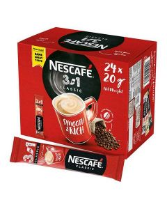 Nescafe Mix Sachet Instant Coffee 20 gm x Pack of 24