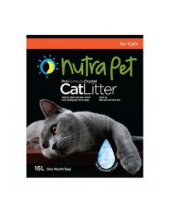 Nutra Pet Cat Litter Silica Gel 16L