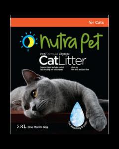 Nutra Pet Cat Litter Silica Gel 3.8L- Non Scented
