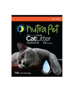 Nutra Pet Cat Litter Silica Gel 7.6L