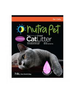 Nutra Pet Cat Litter Silica Gel 7.6L Lavender scent