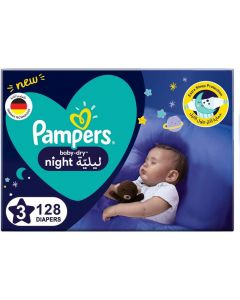 PAMPERS BABY-DRY DIAPERS, SIZE 3, 7-11KG
